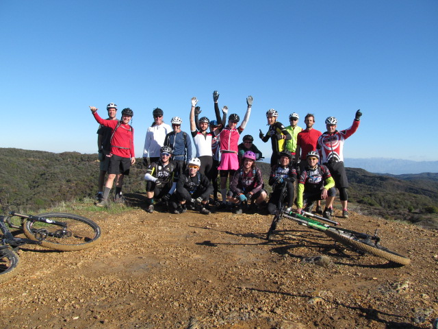We had a great ride prior to the CORBA photo