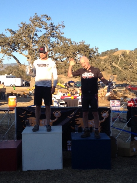 Chris gets 2nd in Single Speed Masters